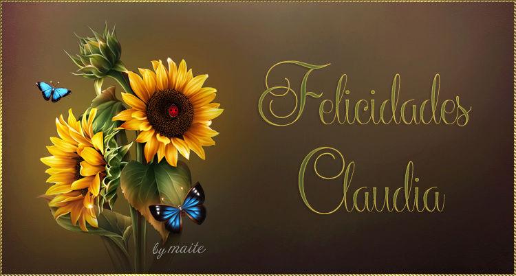 FELIZ CUMPLEAÑOS CLAUDIA /23/ DE MARZO/2018 Claudi14