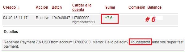 [PAGANDO] YOUGETPROFIT (Oferta 2) - YGP Lite - Refback 40% - Mínimo 2$ - Rec. pago 42 - Página 6 Pago610