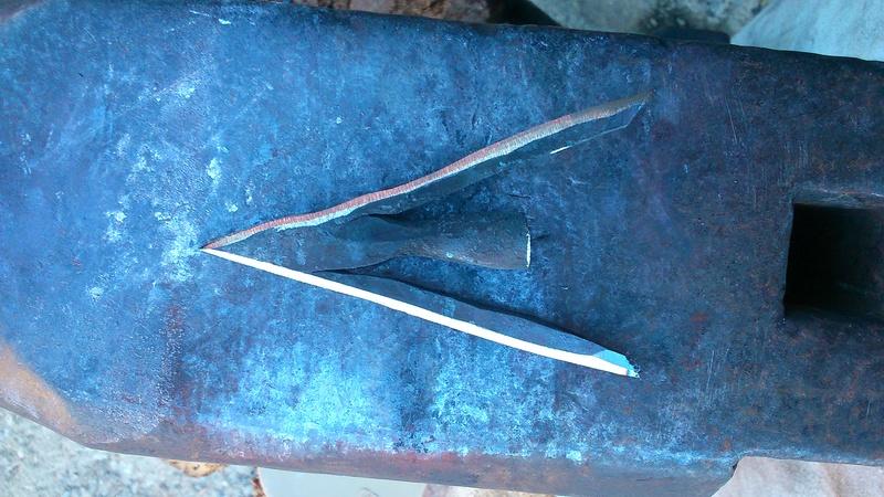 Primeras prácticas de calda. Puntas de flecha con aletas Dsc_0715