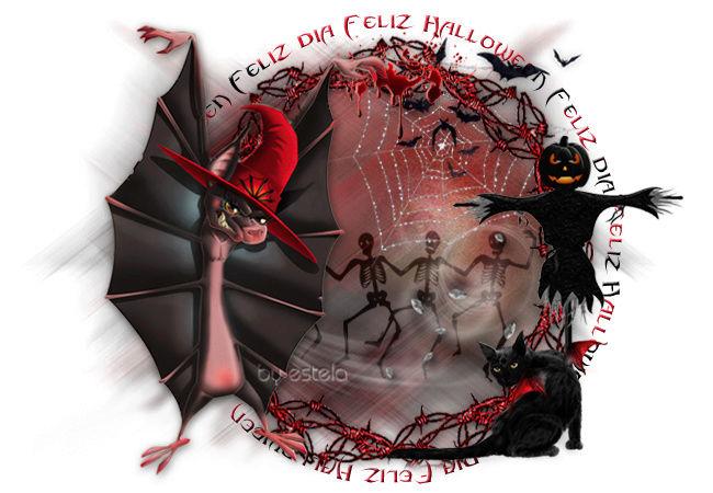 14 -TARJETAS HALLOWEEN Vampi110
