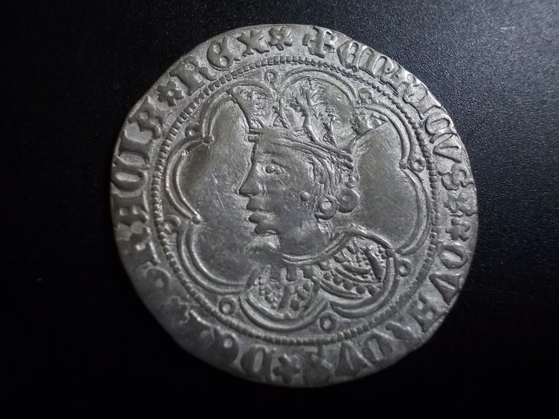 Real de busto de Enrique IV de Castilla 1454-1474  Sevilla Dscn1712