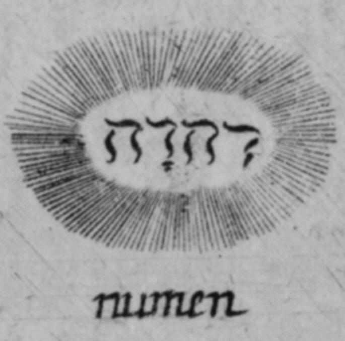 Про еврейских богов Numen-10