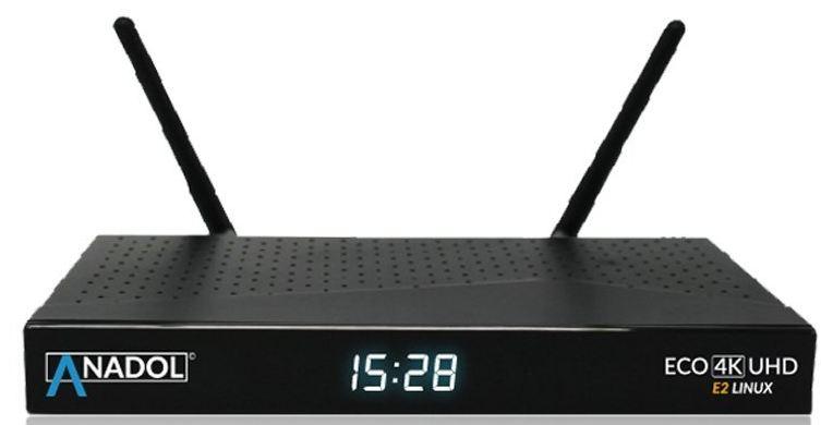 Anadol ECO 4K UHD E2 Linux Sat Receiver A110
