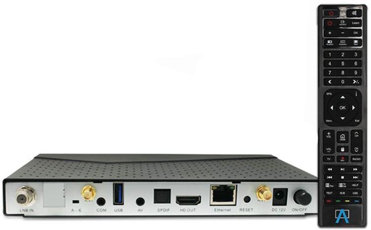 Anadol ECO 4K UHD E2 Linux Sat Receiver A210