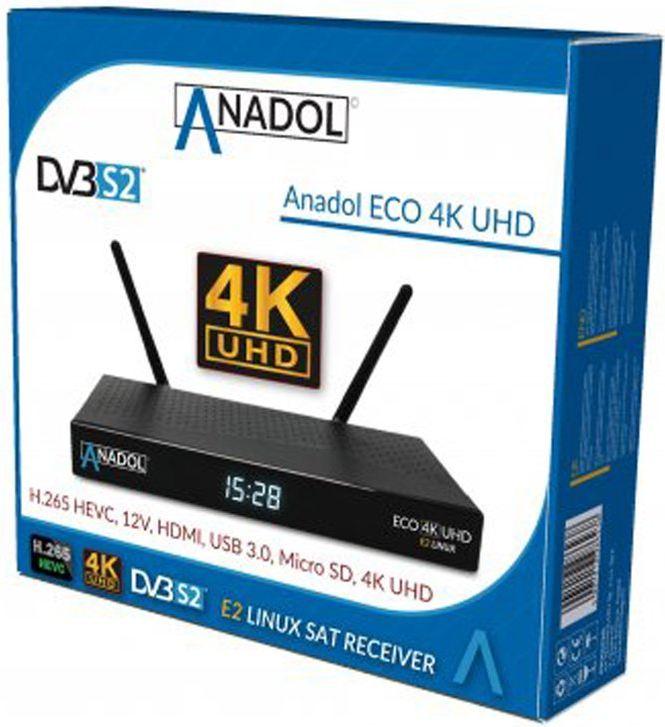 Anadol ECO 4K UHD E2 Linux Sat Receiver A311
