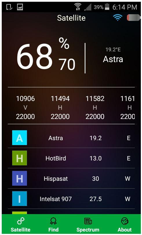 APARATE DE MASURA - SATFINDER D510