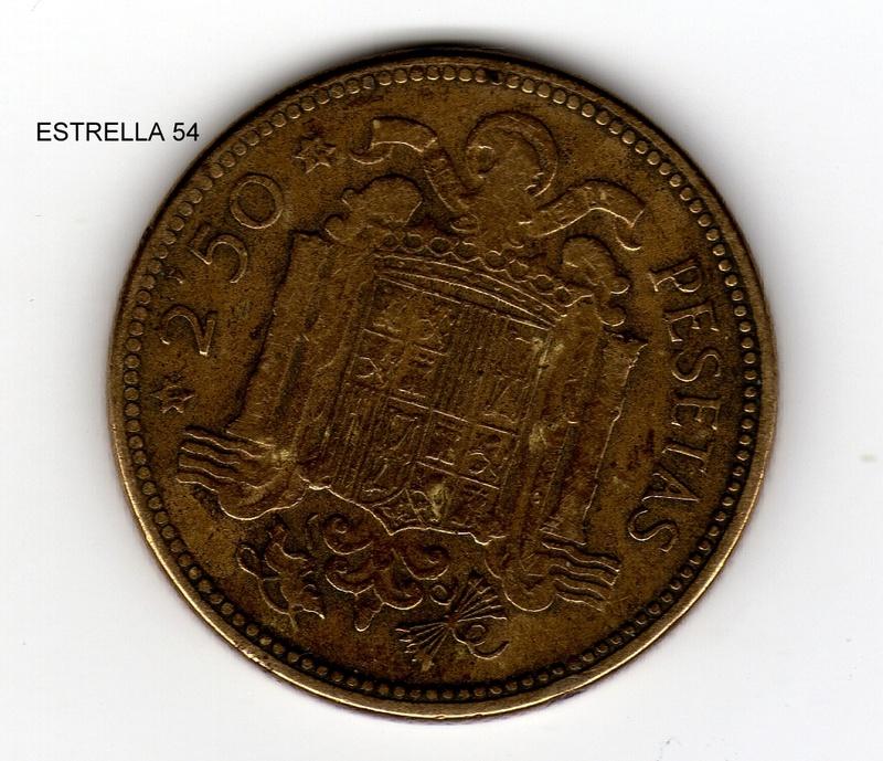 La moneda de 2 y media Pesetas. Estrel13