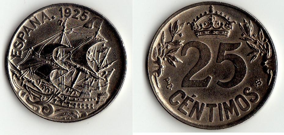 Mis incorporaciones en el monetario Español Galeon10