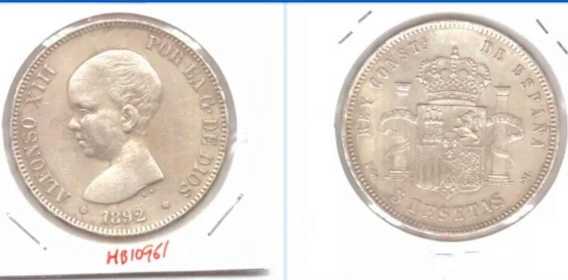 5 pesetas 1892  (*18*92). Alfonso XIII. PG.M Img_2041