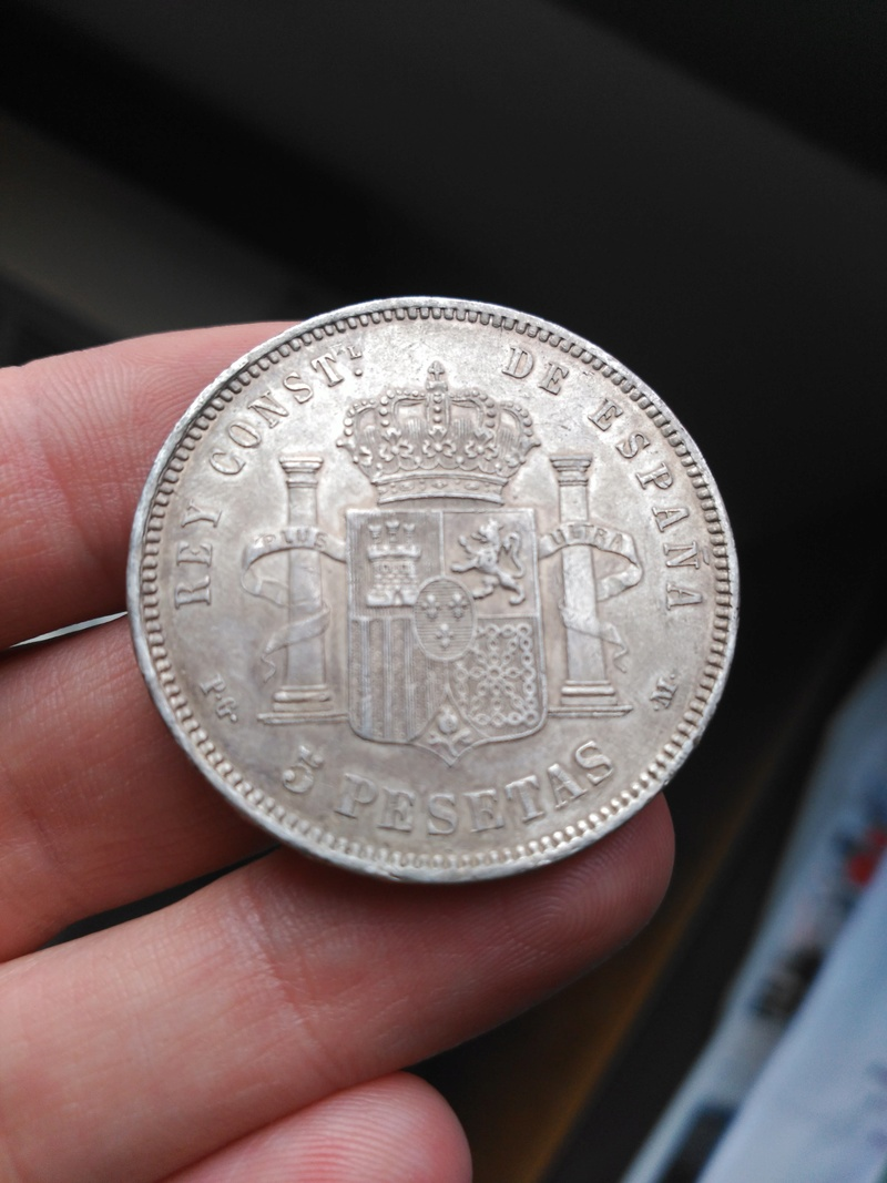 5 pesetas 1892  (*18*92). Alfonso XIII. PG.M Img_2043