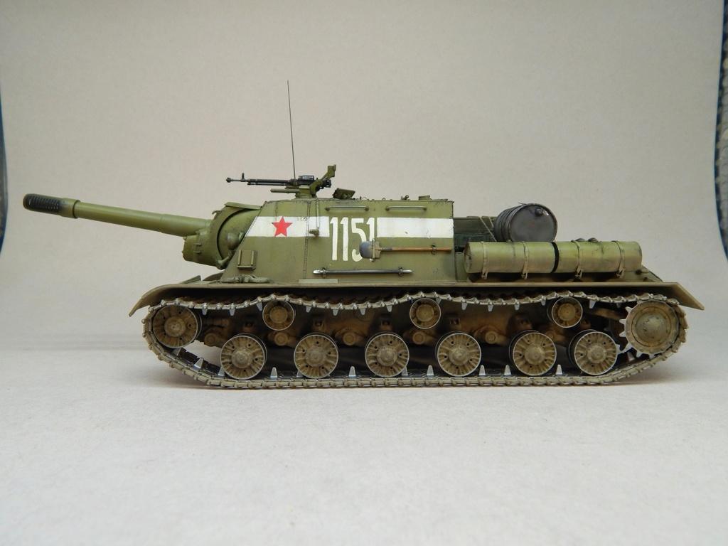 ИСУ-152, Tamiya, 1/35 Dscn6011