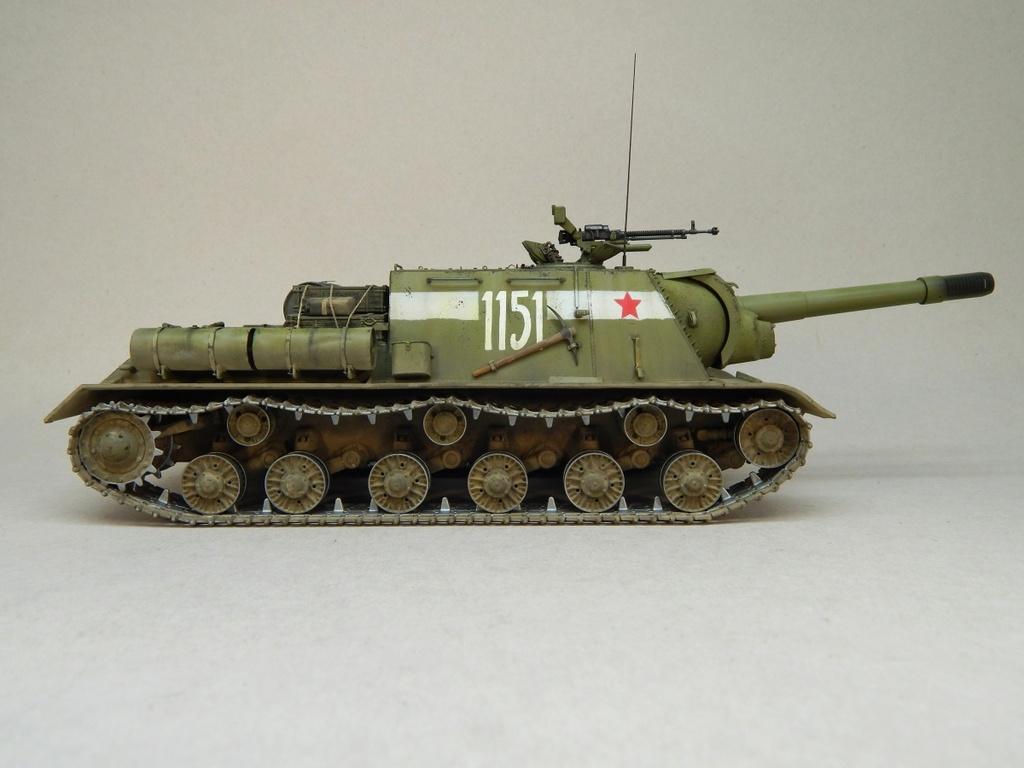 ИСУ-152, Tamiya, 1/35 Dscn6012
