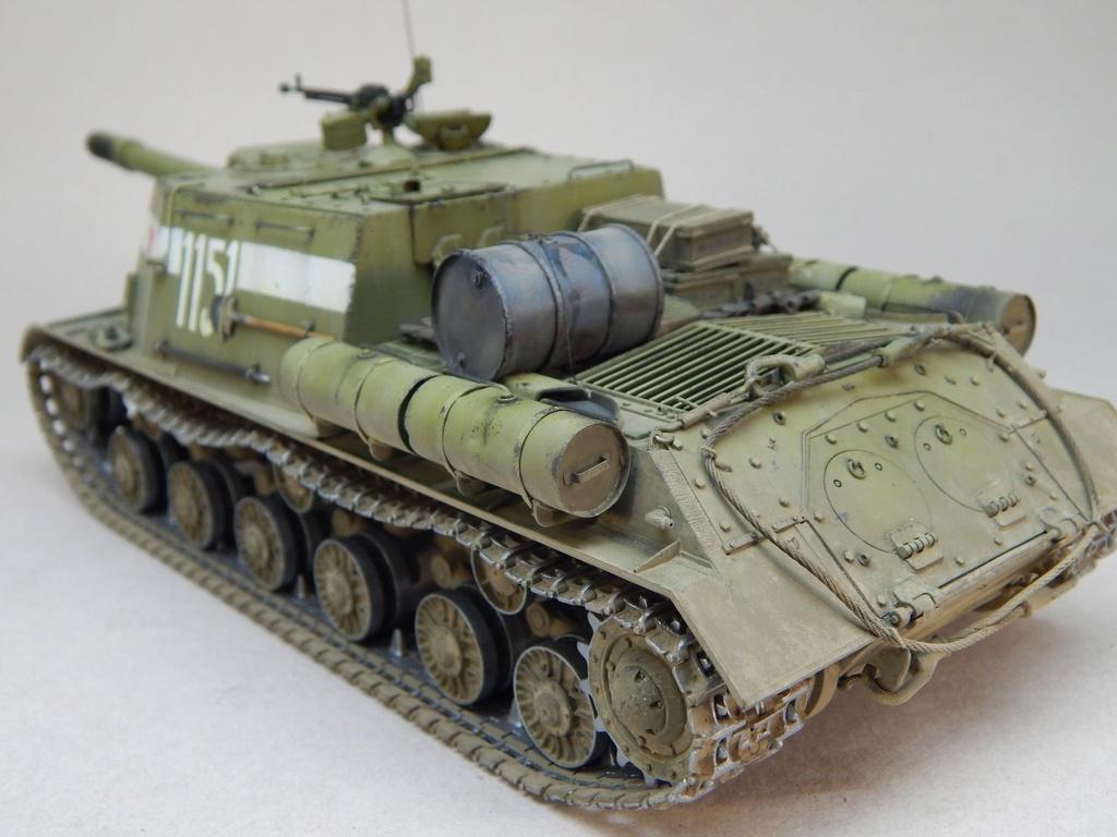 ИСУ-152, Tamiya, 1/35 Dscn6016