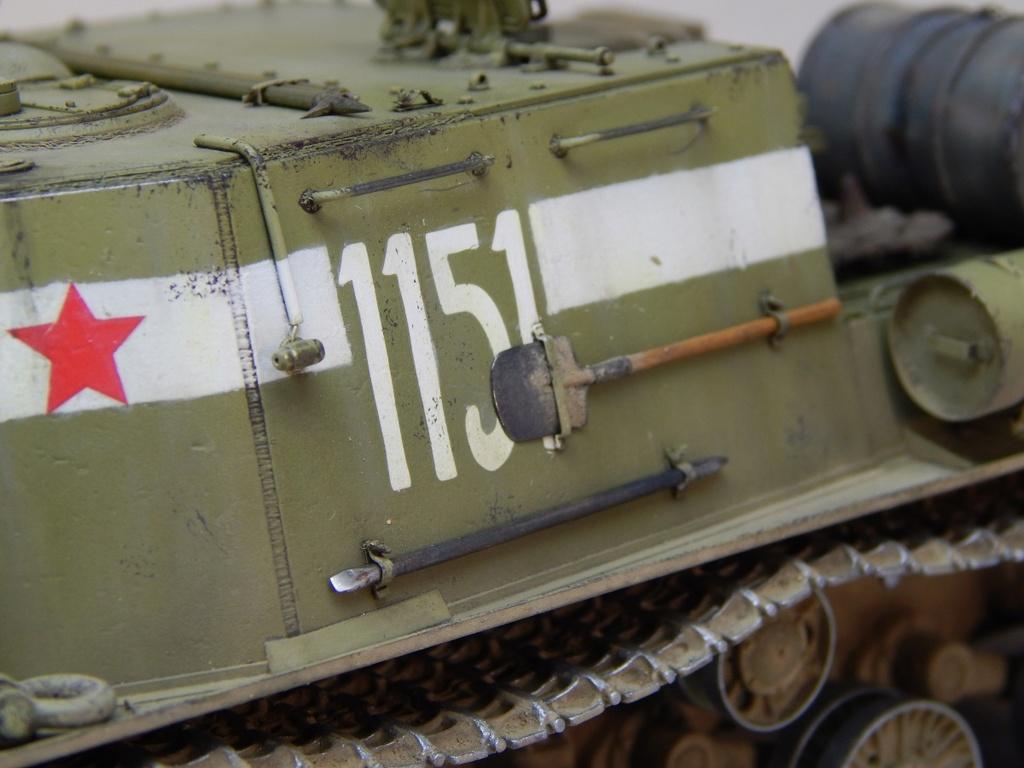 ИСУ-152, Tamiya, 1/35 Dscn6017