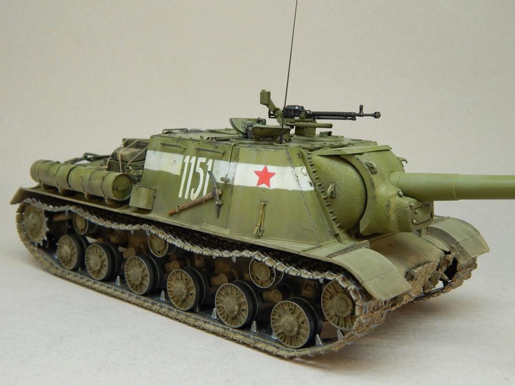 ИСУ-152, Tamiya, 1/35 Dscn6019