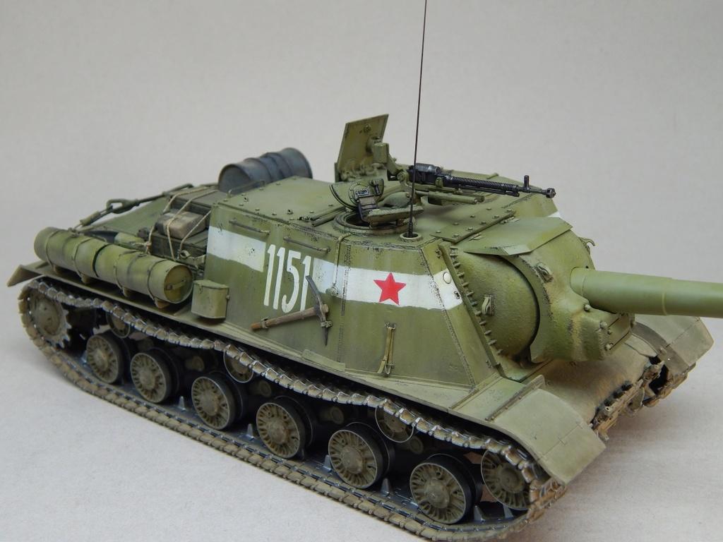 ИСУ-152, Tamiya, 1/35 Dscn6022