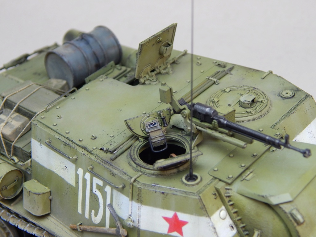 ИСУ-152, Tamiya, 1/35 Dscn6023