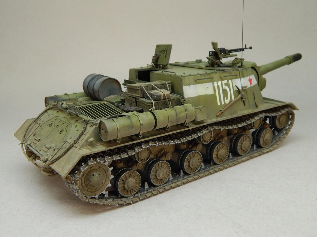ИСУ-152, Tamiya, 1/35 Dscn6024