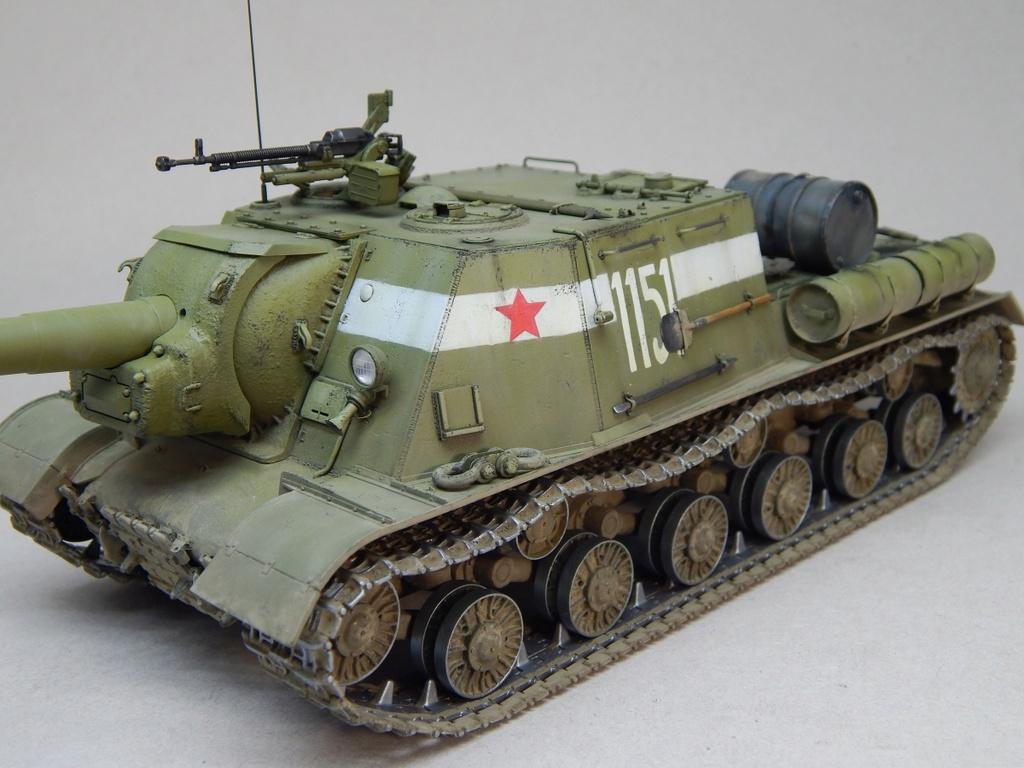 ИСУ-152, Tamiya, 1/35 Dscn6025