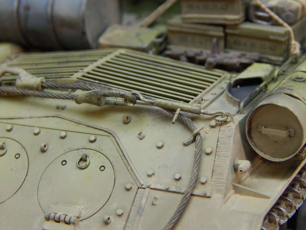 ИСУ-152, Tamiya, 1/35 Dscn6026