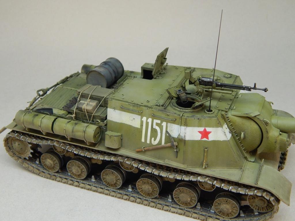 ИСУ-152, Tamiya, 1/35 Dscn6028