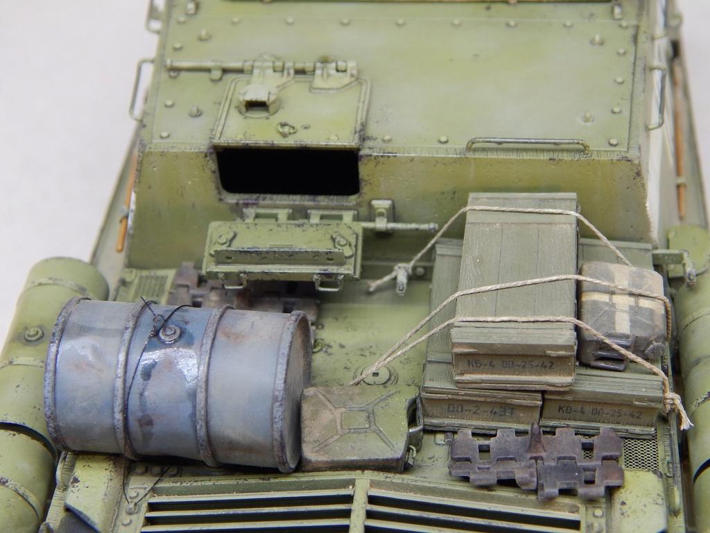 ИСУ-152, Tamiya, 1/35 Dscn6029
