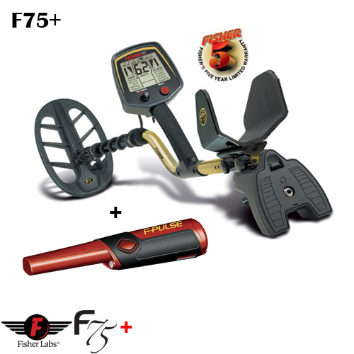 Fisher - Металолотърсач FISHER F75+ Fisher11