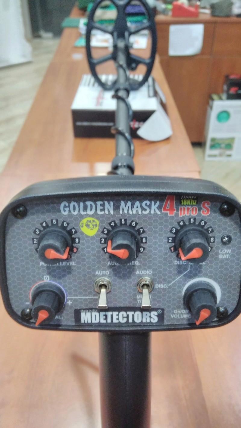 Golden Mask 4PRO S - новия металоттърсач-блог бъстър на MDETECTORS Img_2021