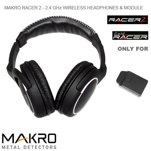 Безжични слушалки за металотърсач Makro Racer 2, Gold Racer Makro-11