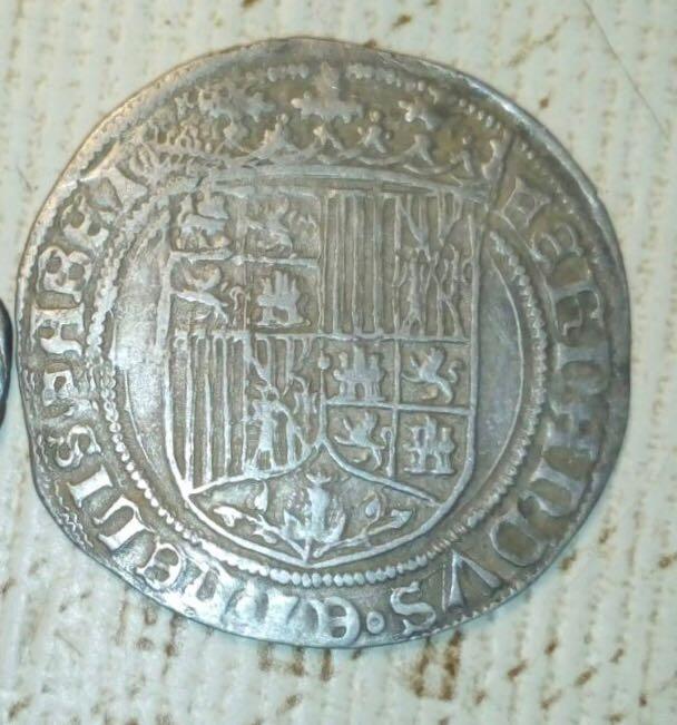 Leyendas poco frecuentes en real a nombre de los reyes católicos Img-2010