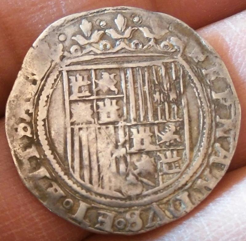 Real a nombre de los R.C sin marca de ceca ni ensayador posterior a 1497. Img_2014