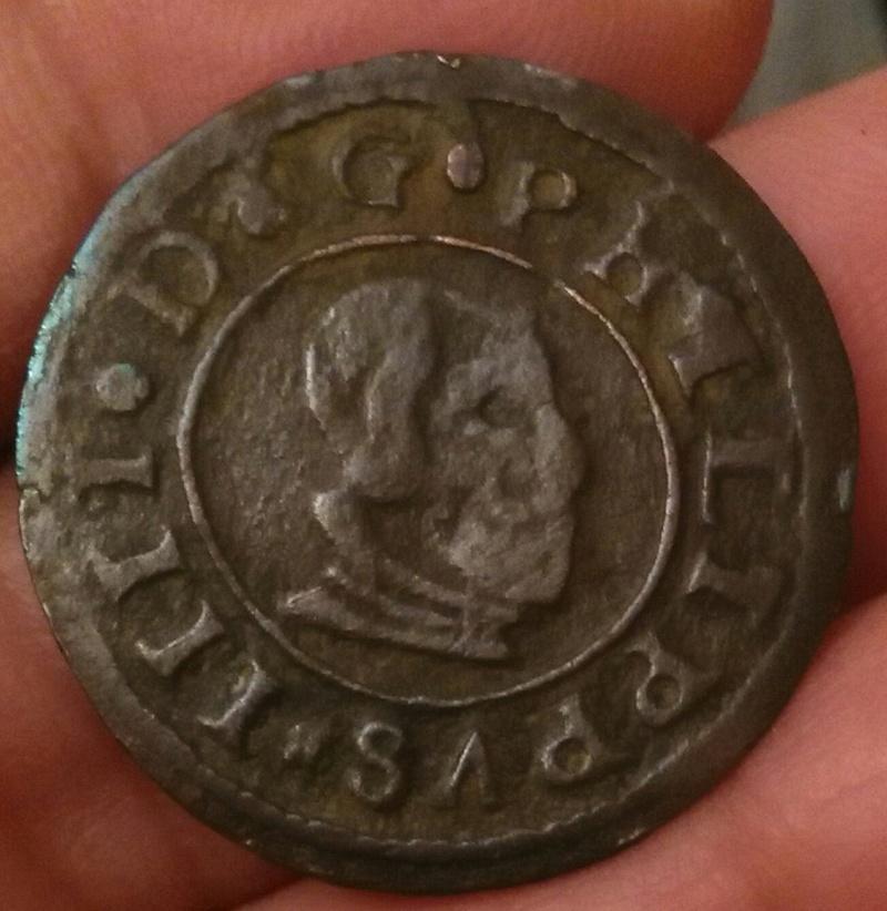 16 maravedís de Felipe IV. 1663. Madrid. No catalogada Img_2025