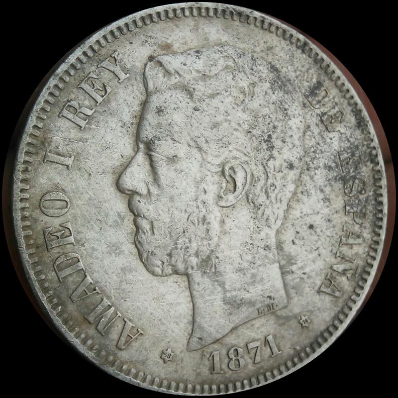 5 pesetas 1871. Amadeo I Img_2036