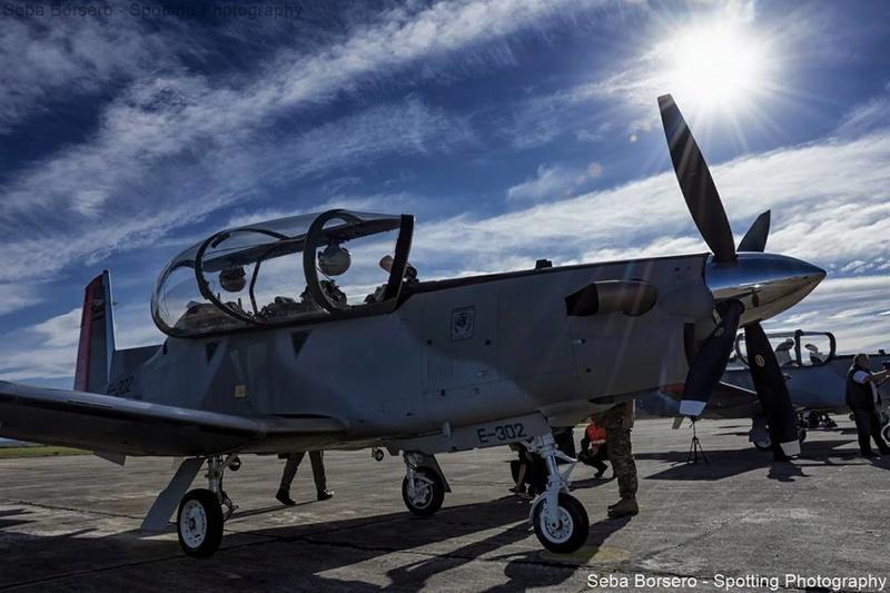 Beechcraft T-6C+ Texan II en la Fuerza Aérea Argentina 22308610