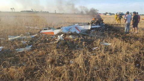 Se estrelló Grob 120TP-A de la Fuerza Aerea Argentina 22519210
