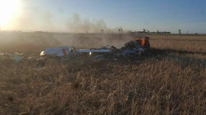 Se estrelló Grob 120TP-A de la Fuerza Aerea Argentina 22528110