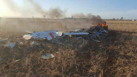 Se estrelló Grob 120TP-A de la Fuerza Aerea Argentina 22549410