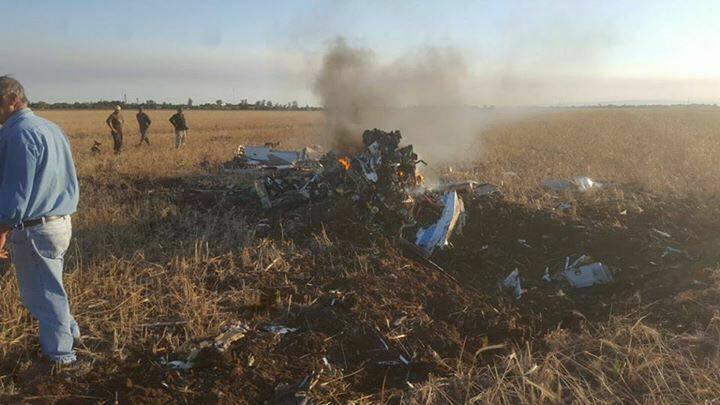 Se estrelló Grob 120TP-A de la Fuerza Aerea Argentina 22552410