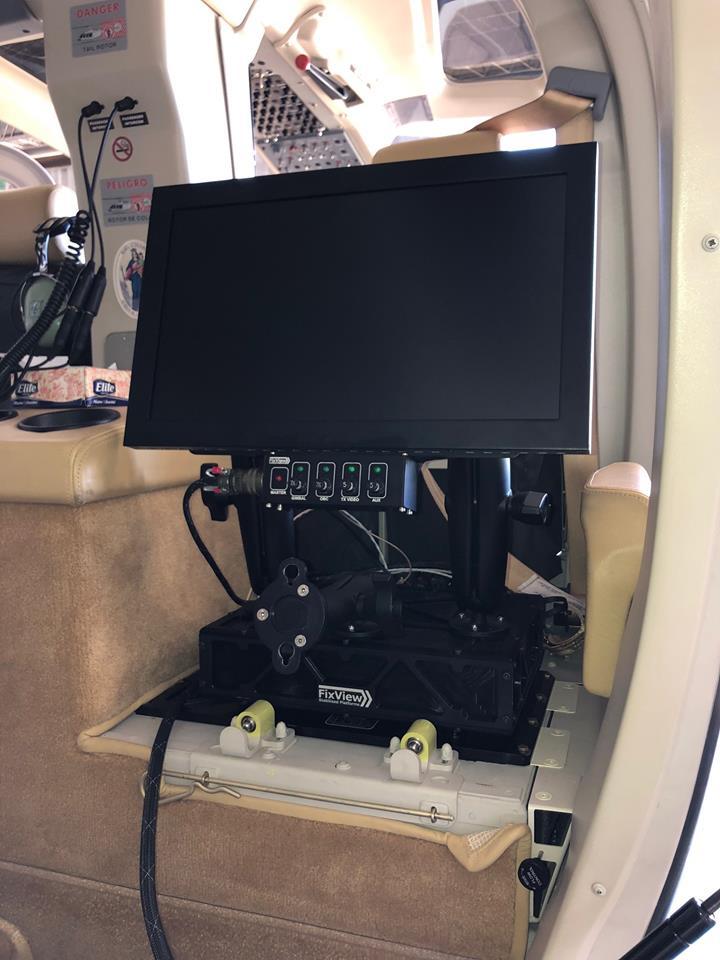 Fix View ensaya en vuelo sistema electro óptico FV-300 en helicopteros 31961810