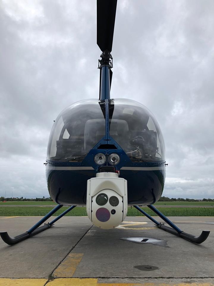 Fix View ensaya en vuelo sistema electro óptico FV-300 en helicopteros 32089410