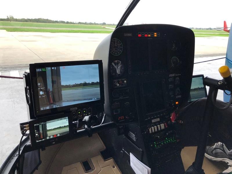 Fix View ensaya en vuelo sistema electro óptico FV-300 en helicopteros 32089510