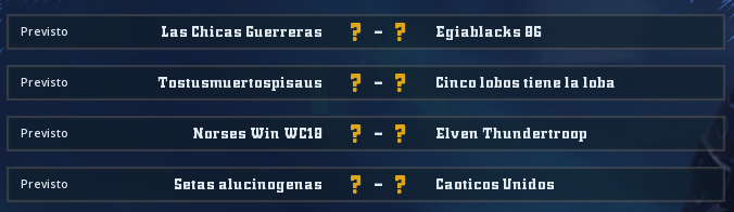 WC2018 - Grupo 2 / Jornada 4 - hasta el domingo 6 de mayo Jorna112