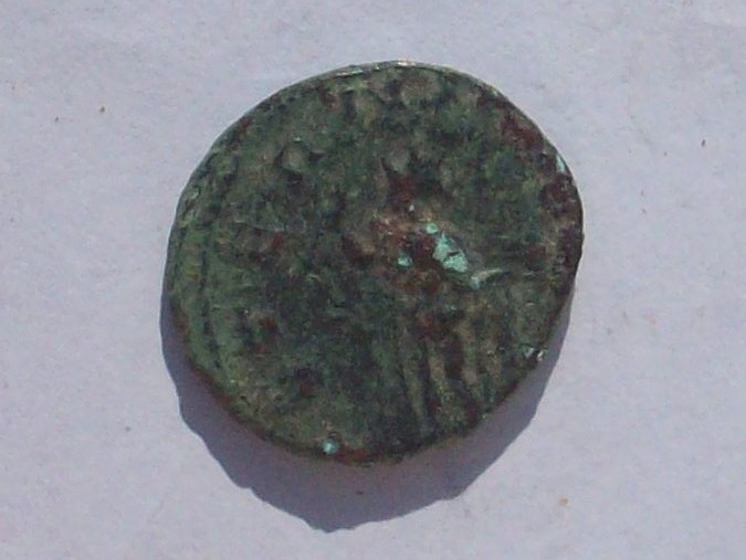 Antoniniano de Galieno. AETERNITAS AVG. Roma 102_4107