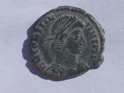 """AE3 de Constancio II. """"matao"""" FEL TEMP REPARATIO. Roma 102_4124"""