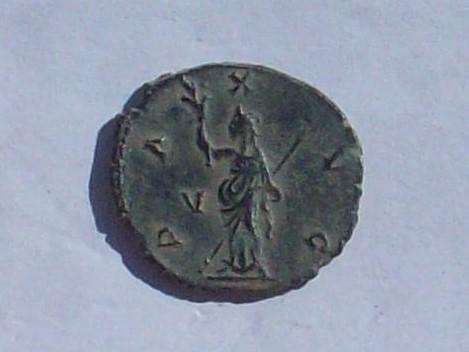 Antoniniano de Galieno. PAX AVG. Roma 102_4133