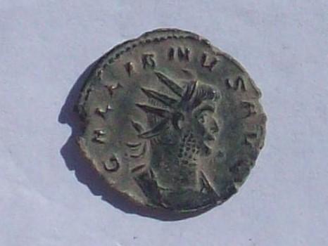 Antoniniano de Galieno. PAX AVG. Paz estante a izq. Ceca Roma. 102_4134