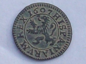 2 Maravedis de Felipe III de 1607, Segovia 102_4146