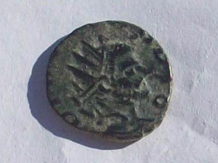 Antoniniano de imitación/falsificación de Claudio II. 102_4167