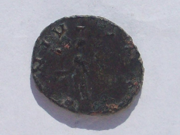Antoniniano de Claudio II. GENIVS EXERCI. Roma 102_4295