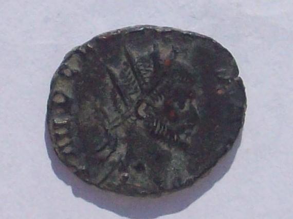 Antoniniano de Claudio II. GENIVS EXERCI. Genio estante a izq. Roma 102_4296